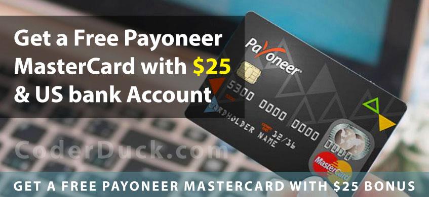 free mastercard, payoner mastercard, earm online