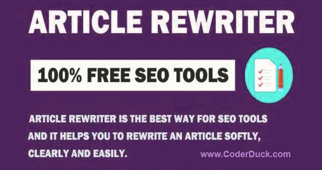 Article Rewriter, Article Spinner, SEO Content