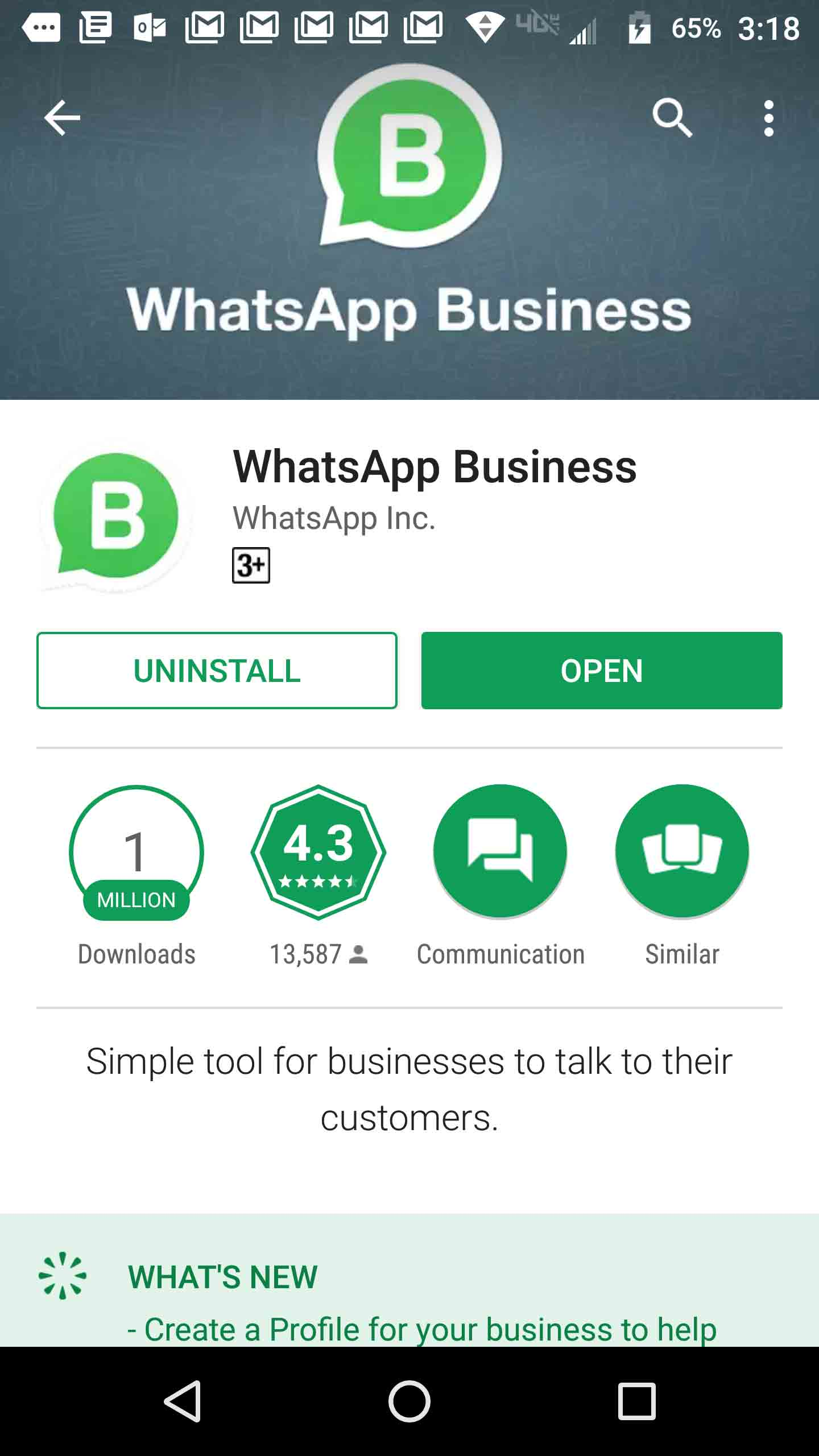 WhatsApp for Business Launched in pakistan