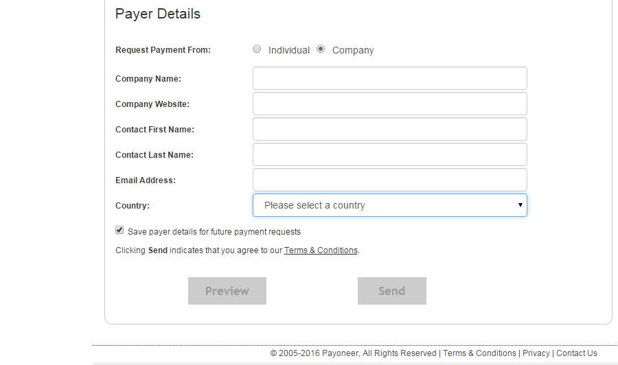 Request Payment From Company, How to Request Payment From us Company