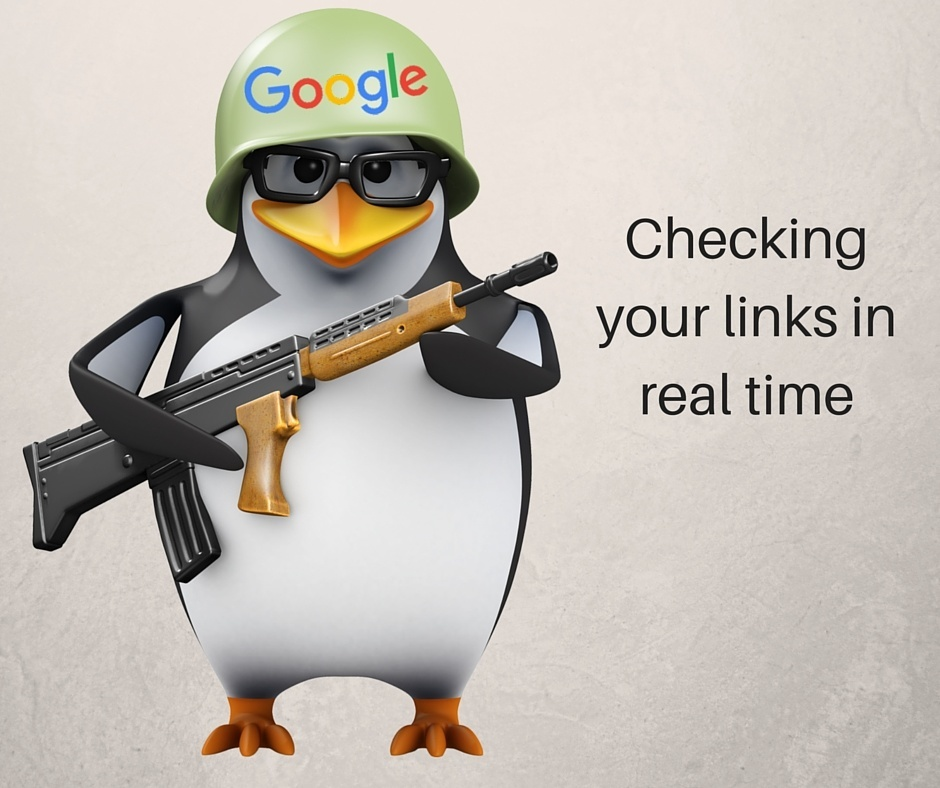 Google Penguin Update real time checking, Penguin Update 4.0, real time checking,